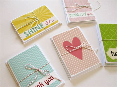 Handmade Simple Cards - everyday celebrations lovely handmade cards