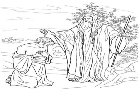bible coloring pages david becomes king no david coloring faces and goliath pages az grig3 org
