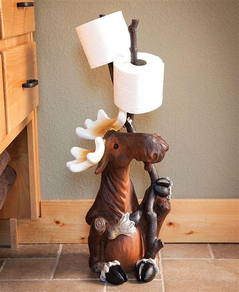 Moose And Bathroom Decor by 182 Best Images About Toilet Paper Holders On