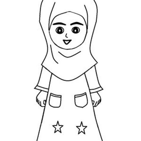 Jubah Anak Soleh koleksi mewarnakan gambar muslim dan muslimah azhan co
