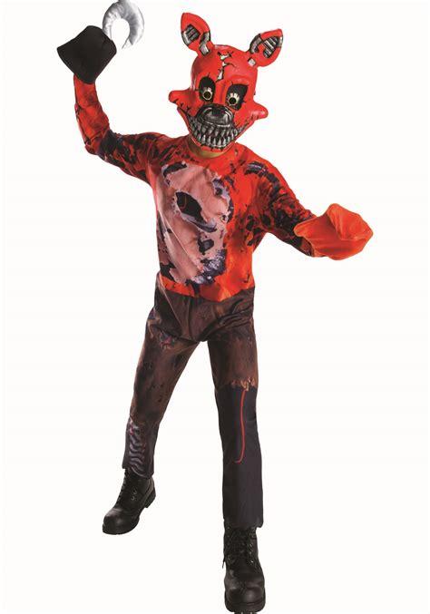 five nights at freddy s foxy five nights at freddy s nightmare foxy boys costume