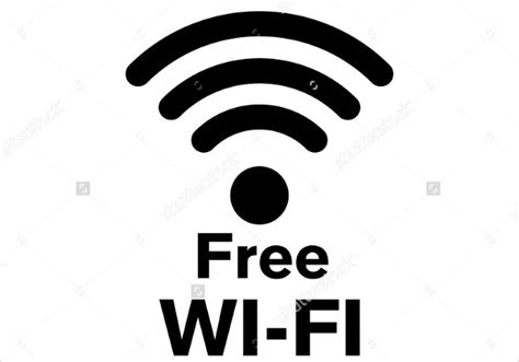 Free Wifi Poster Template Poster Girl Press Free Wifi Poster Template