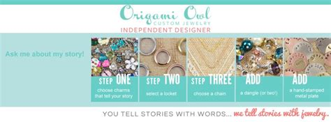 Origami Owl Banner - let your story be heard with origami owl lockets origami