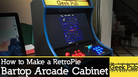 How To Get Build A Build A Retropie Bartop Arcade Cabinet With A Raspberry Pi