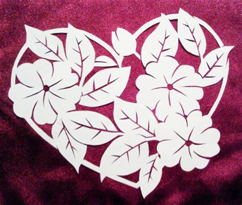 How To Make Paper Cut Designs - simple paper cutting designs patterns www pixshark