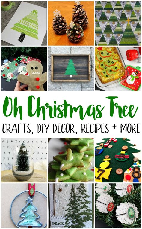 christmas crafts and recipes tree crafts recipes and block gun ramblings