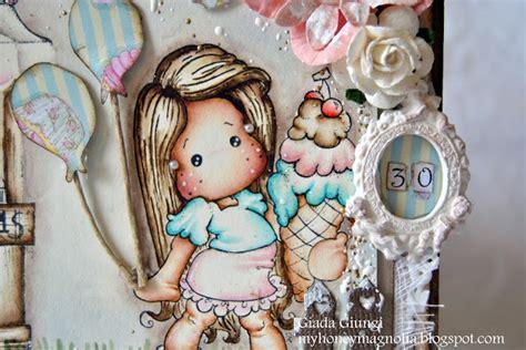 Ro Sabrina Ribbon my honey magnolia happy birthday sis