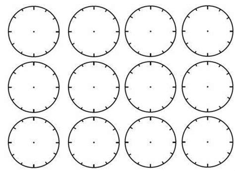 blank time worksheets blank clock face worksheet blank clock faces worksheet