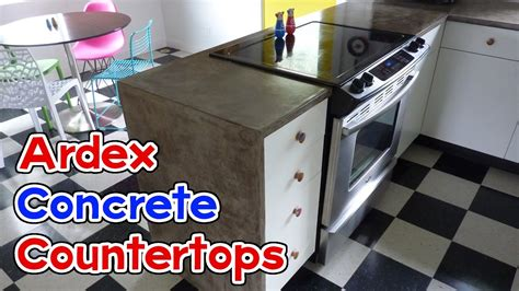 Ardex Feather Finish Countertops by Diy Ardex Feather Finish Concrete Countertops Doovi