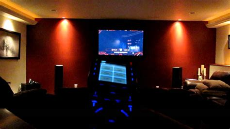 home theater rf remote lighting control youtube
