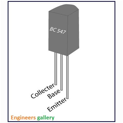 bc547 transistor tutorial bc 547 npn transistor engineers gallery