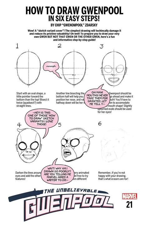How To Draw Spectacular Spider Step By Step marvel comics reveals hilarious how to draw variant