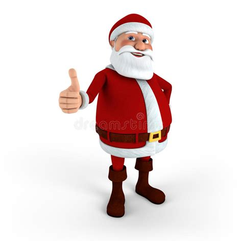 santa claus thumbs up santa giving thumbs up stock image image 20686801