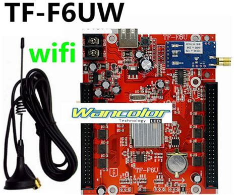 Tf Sw Wifi Led Module Controller tf f6uw wireless wifi communication led controller card support single dual color led