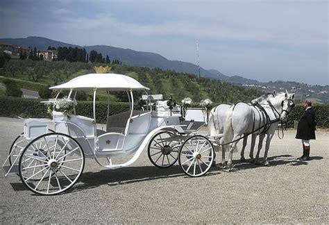 noleggio carrozza matrimoni affitto carrozza con
