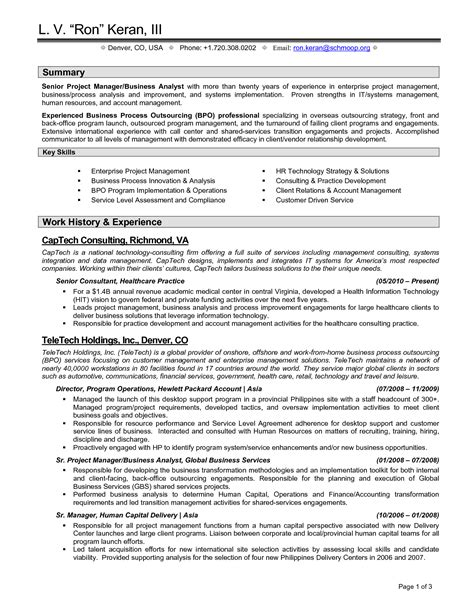 business manager resume sles exles of cv personal statements for retail