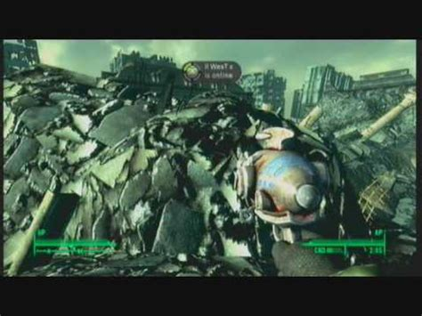 fallout 3 white house fallout 3 lets find the white house glitch youtube