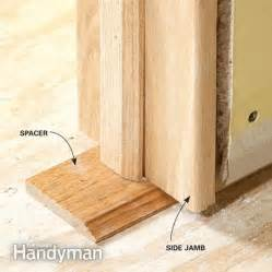 Replacing Interior Doors Without Frame Tips For Hanging Doors The Family Handyman