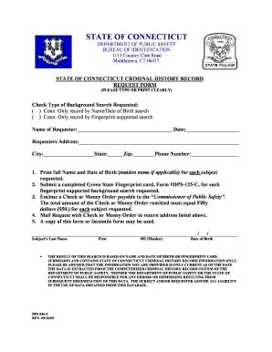 Getting A Green Card With A Criminal Record Dps 125c Form Fill Printable Fillable Blank Pdffiller