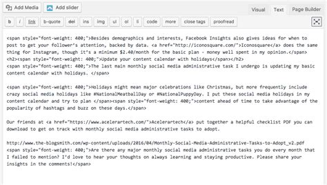visitor pattern extra arguments how to fix common wordpress formatting issues