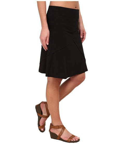 knit jersey skirt toad co oblique jersey knit skirt at zappos