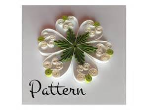 Quilling Template by Quilling Pattern And Printable Template Pdf By Evascreation