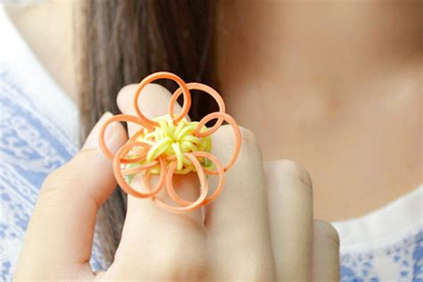 sunflower rubber st sunflower rubber band ring family crafts