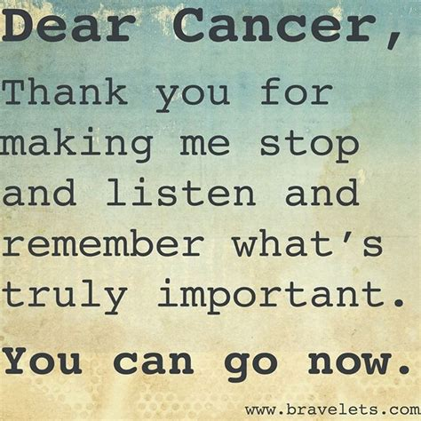 cancer quotes from a mom who went through it only thing i