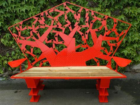 banc de jardin en métal – Beautiful Banc De Jardin Demi Lune Ideas   Design Trends
