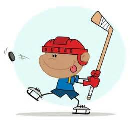Hit The Floor Greeting - hockey clip art free clipart images cliparting com