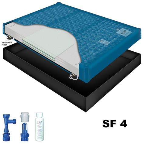 water bed mattress sanctuary sf4 waveless waterbed mattress