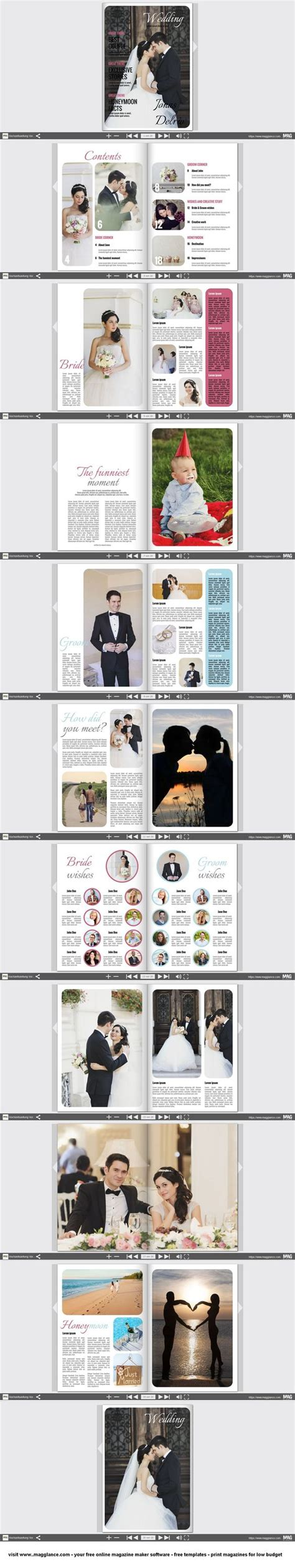 Design Hochzeitszeitung Vorlage Gifts Wedding And Design Templates On