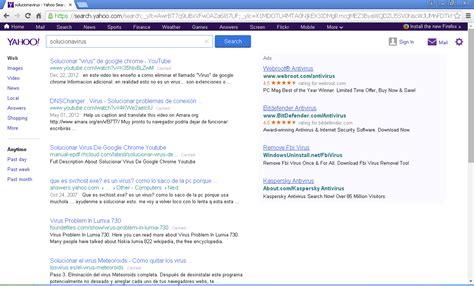 Search For Yahoo Remove Search Yahoo Virus En Solucionavirus