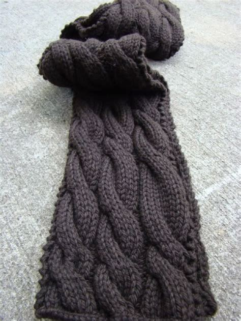 free easy cable scarf knitting patterns 10 ideas about cable knit scarves on knitting