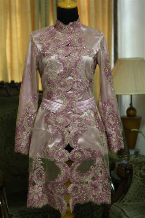 Baju Kebaya Modern Mewah til cantik dengan model baju kebaya muslim