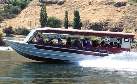 jet boat on snake river snake river adventures visit north central idaho
