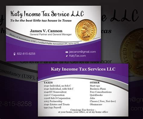 tax professional business cards template tax service business card design business card design
