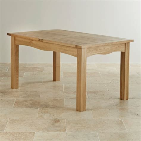 Cairo Extending Dining Table In Natural Oak Oak Oak Furniture Land Dining Table