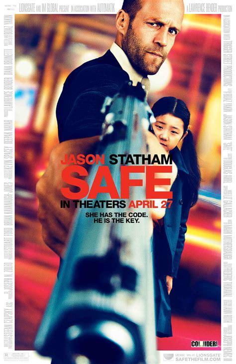 jason statham heart film official safe movie poster and trailer starring jason