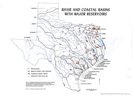 texas river map atlas of texas perry casta 241 eda map collection ut library