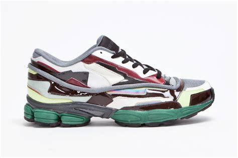 raf simons panelled running shoe hypebeast
