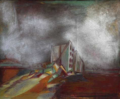 spray painting canvas robert habel works ben lomond tasmania