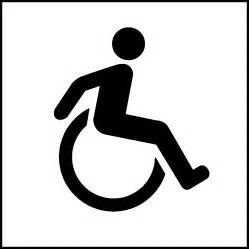 House Dimensions Wheelchair Sign Clipart Image 38497