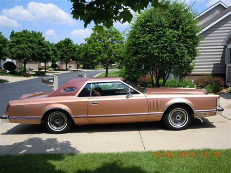 1979 lincoln v for sale classiccars cc 553697