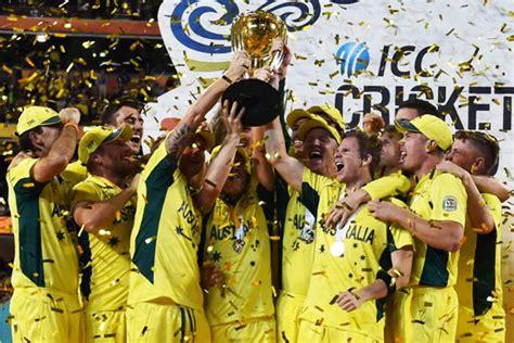 australia win the 2015 icc cricket world cup sports