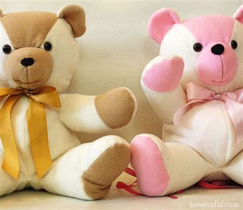 pattern for a fabric teddy bear sew your own teddy bears with 15 free patterns
