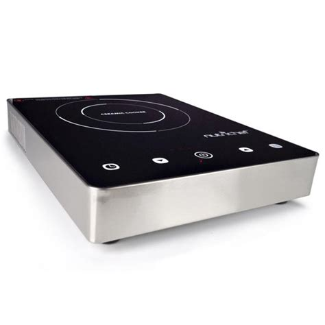 induction glass cooktop nutrichef pkst18 ceramic induction electric glass burner