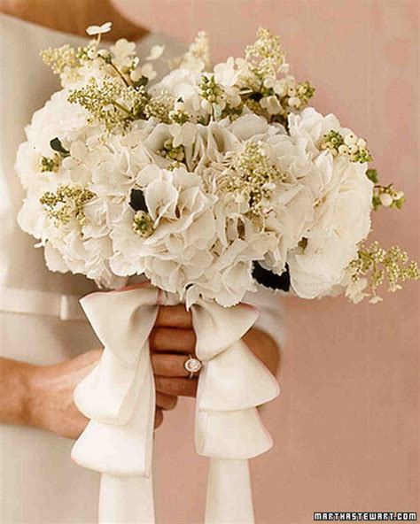 Bouquet Flower Arrangement For Wedding by Hydrangea Wedding Flower Arrangements Martha Stewart