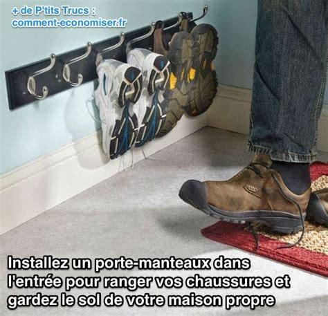 Comment Ranger Des Chaussures by Installez Un Portemanteau Dans L Entr 233 E Pour Ranger Vos