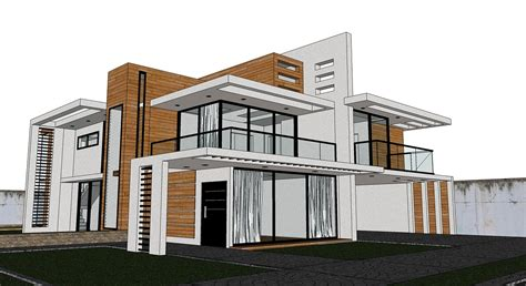 sketchup pro2015 how to create house model in 1 30 hour sketchup texture free sketchup model modern villa 45 and